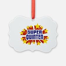 Quinten the Super Hero Ornament