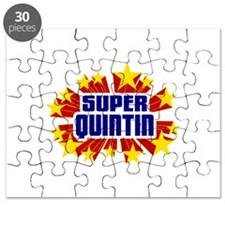 Quintin the Super Hero Puzzle