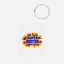 Quinton the Super Hero Keychains