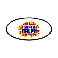 Ralph the Super Hero Patches