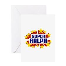 Ralph the Super Hero Greeting Card