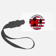 7th Infantry Division Luggage Tag