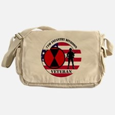 7th Infantry Division Messenger Bag