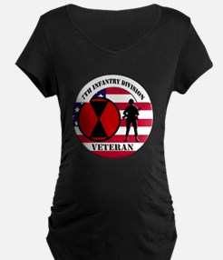 7th Infantry Division Maternity T-Shirt