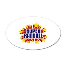Randall the Super Hero Wall Decal
