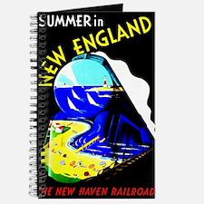 New England Train Travel Journal