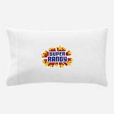 Randy the Super Hero Pillow Case