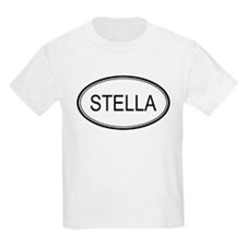 Stella Oval Design Kids T-Shirt