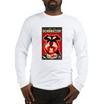 Obey the Schnauzer! 2-sided Long Sleeve Tee
