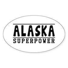 Alaska Superpower Designs Decal