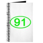 Number 91 Oval Journal