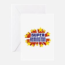 Remington the Super Hero Greeting Cards (Pk of 10)
