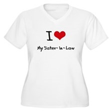 I Love My Sister-In-Law Plus Size T-Shirt