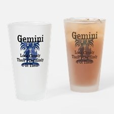 Gemini Look Closely There's 2 Of Them Drinking Gla