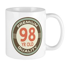 98th Birthday Vintage Mug