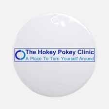 Hokey Pokey Clinic Ornament (Round)