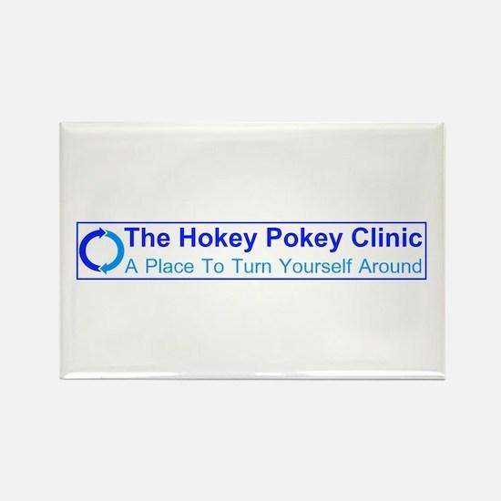Hokey Pokey Clinic Rectangle Magnet