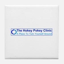 Hokey Pokey Clinic Tile Coaster