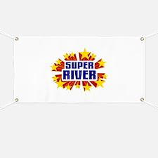 River the Super Hero Banner