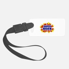 River the Super Hero Luggage Tag
