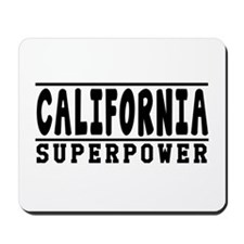 California Superpower Designs Mousepad