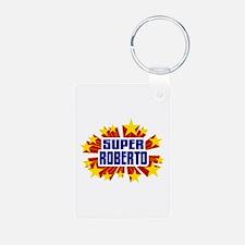Roberto the Super Hero Keychains