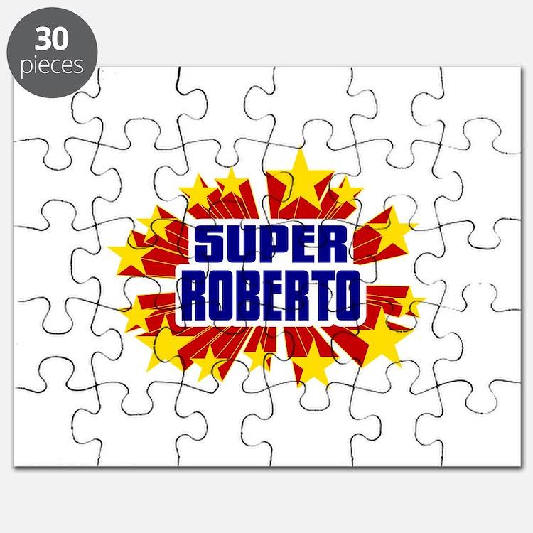 Roberto the Super Hero Puzzle
