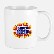 Roberto the Super Hero Small Mugs