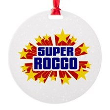 Rocco the Super Hero Ornament