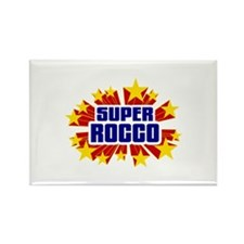 Rocco the Super Hero Rectangle Magnet