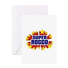 Rocco the Super Hero Greeting Card