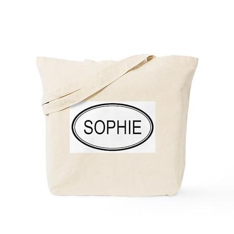 Sophie Oval Design Tote Bag