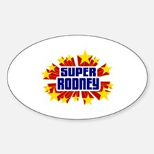 Rodney the Super Hero Decal