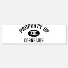 Property of Cornelius Bumper Bumper Bumper Sticker