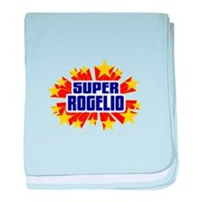 Rogelio the Super Hero baby blanket