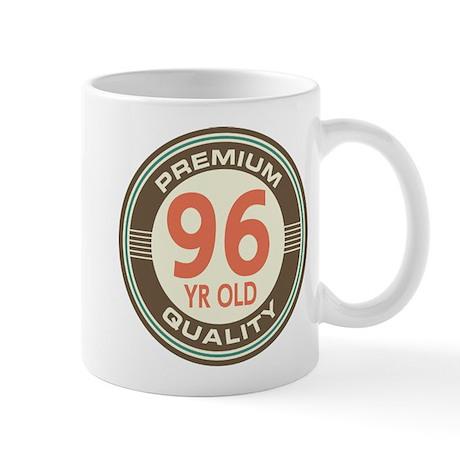 96th Birthday Vintage Mug