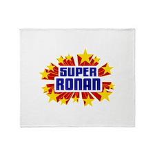 Ronan the Super Hero Throw Blanket