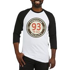 93rd Birthday Vintage Baseball Jersey