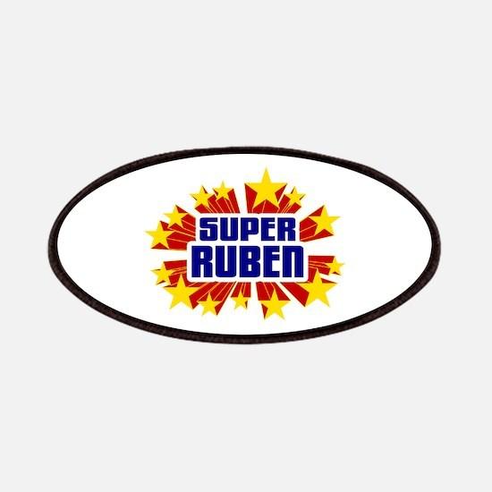 Ruben the Super Hero Patches