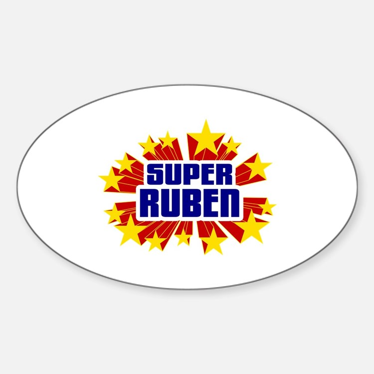 Ruben the Super Hero Decal