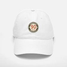 90th Birthday Vintage Baseball Baseball Cap