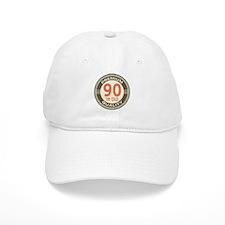 90th Birthday Vintage Baseball Cap