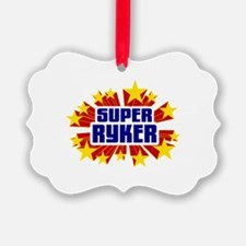 Ryker the Super Hero Ornament