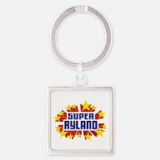 Ryland the Super Hero Keychains