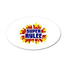 Rylee the Super Hero Wall Decal