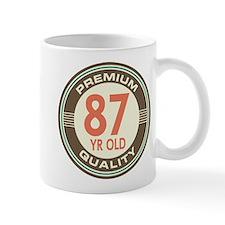 87th Birthday Vintage Mug