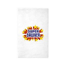Sawyer the Super Hero 3'x5' Area Rug
