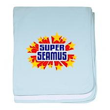 Seamus the Super Hero baby blanket