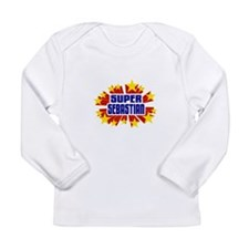 Sebastian the Super Hero Long Sleeve T-Shirt