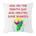DUNEBUGGIES.png Woven Throw Pillow